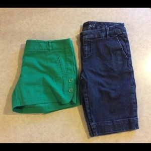 Lot of 2 The Limited Shorts Size 8